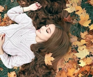 hair and autumn image