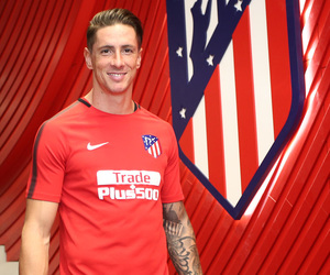 fernando torres and atletico madrid image