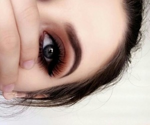brown, eyeshadow, and girly image