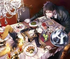 kuroshitsuji, ciel phantomhive, and black butler image