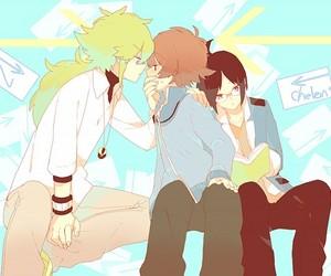pokemon, anime boy, and touya (pokémon) image