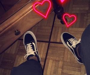 black, follow, and scarpe image