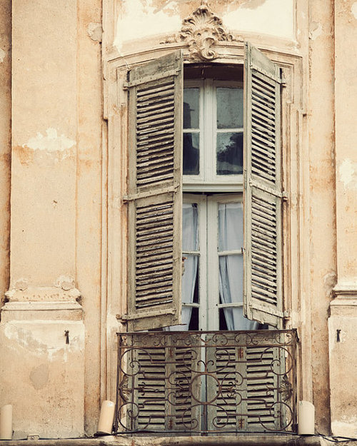 window, vintage, and old image