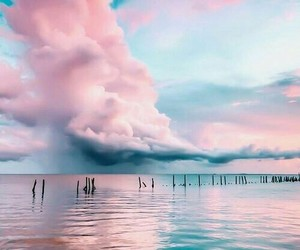 beauty, sea, and colors image