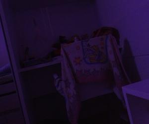 aesthetic, purple, and bedroom image