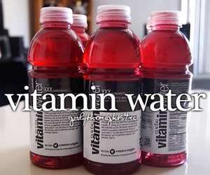 vitamin water and girly thoughts image