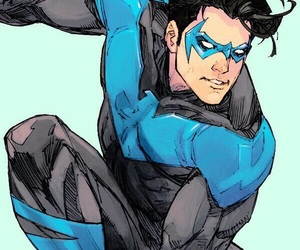 DC, yj, and dick grayson image