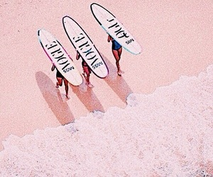 vogue, beach, and theme image