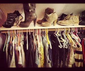 beauty, shoes, and closet image