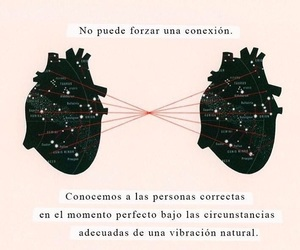 love, conexion, and frases image