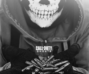ghost, call of duty, and simon riley image