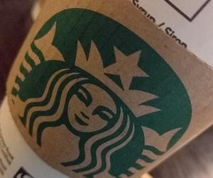 bath, starbucks, and coffee image