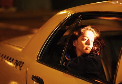 girl, taxi, and mia image