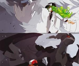 pokemon, anime boy, and reshiram image