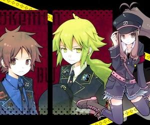 anime girl, pokemon, and police image