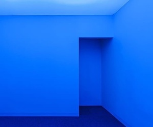 aesthetic, blue, and room image
