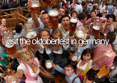 germany and oktoberfest image