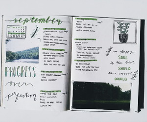 creative, drawing, and green image