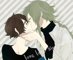 kiss, pokemon, and anime boy image