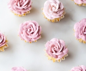 cupcake, pink, and girly image