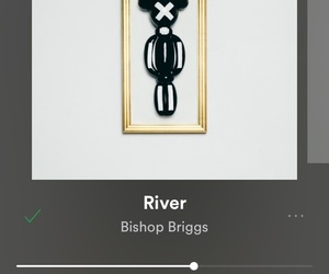 music, playlist, and river image