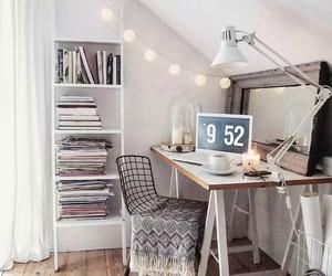 decoracion, dormitorio, and escritorio image