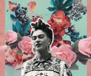 art, Collage, and Frida image