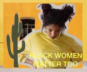 art, natural hair, and black girls image
