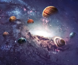 planets, space, and beautiful image