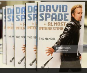 book, david, and david spade image