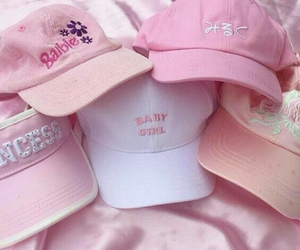 pink, cap, and aesthetic image