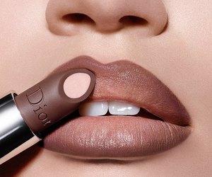 lips, lipstick, and dior image