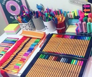 school, study, and style image