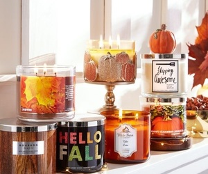 autumn, candle, and cider image