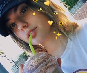 aesthetic, food, and girl image