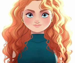 merida, princess, and brave image