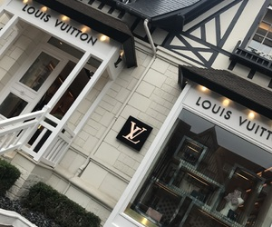 france, little house, and Louis Vuitton image