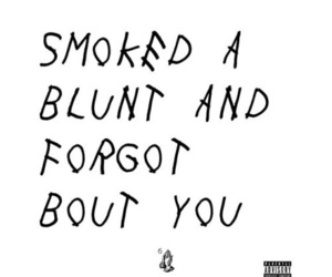 blunt, Drake, and smoke image