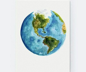 art, earth, and paint image
