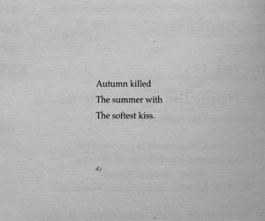 autumn, quotes, and kiss image