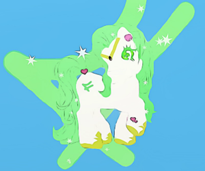 anime, my little pony, and pony image