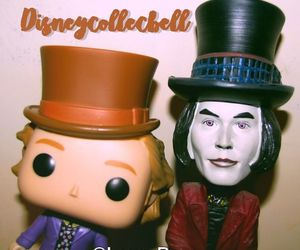 figurine, lauryrow, and Willy Wonka image