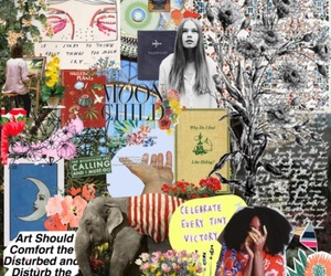 art, Collage, and mood image
