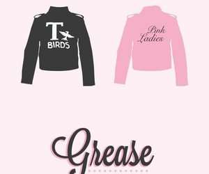 grease, black, and vintage image