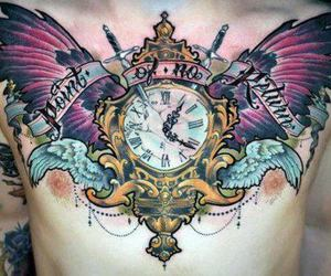 tattoo and clock image