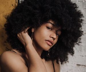 fro, natural hair, and pretty hair image