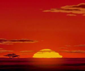 lion king and circle of life image