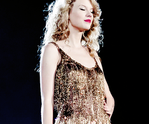 Taylor Swift and gold image