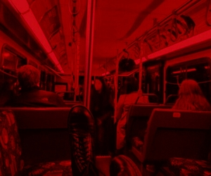 red, grunge, and aesthetic image