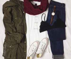 moda, outfits, and tumblr image